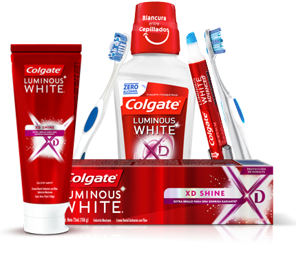 Productos Colgate Luminous White